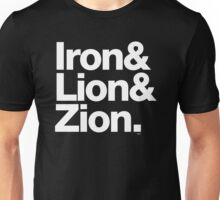 Bob Marley Iron & Lion Zion Reggae Threads Unisex T-Shirt