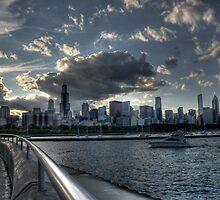 Chicago Skyline HDR by Matt Erickson