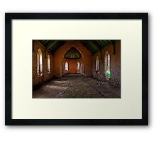 Away in a Manger Framed Print