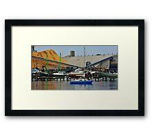 Portland Harbor Framed Print