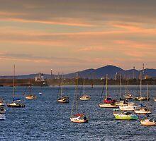 Corio Bay at Geelong by Darren Stones