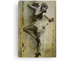 Vintage Dancer Canvas Print