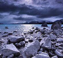 View over Lake Tekapo by Matthew Larsen