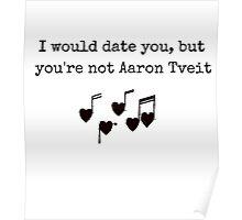 Aaron Tveit Poster