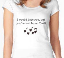 Aaron Tveit Women's Fitted Scoop T-Shirt