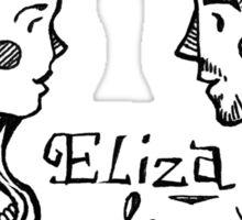 Eliza & Alex  Sticker