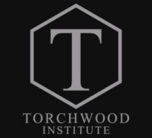 Torchwood Light Gray Classic Logo and Name by Christopher Bunye