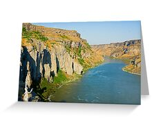 Snake River Canyon Greeting Card