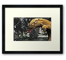 Grumble Bumble Framed Print