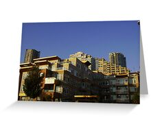 South water front Seattle Greeting Card
