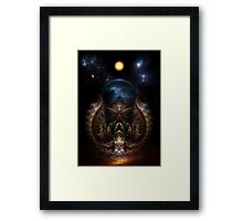 The Threllan Lions Framed Print