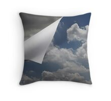 Unfolding Weather Throw Pillow