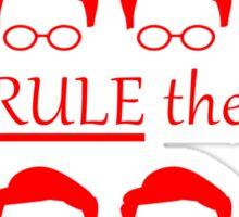 Geeks Rule The World Sticker