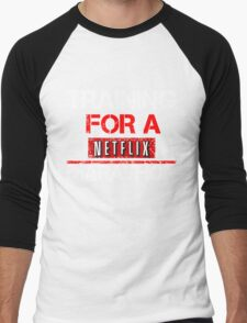 TRAINING FOR A NETFLIX MARATHON - Saiyan Style Black T-Shirt