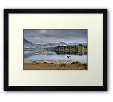 Boats on Ring of Kerry Framed Print