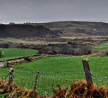 Panorama of Donegal Ireland by Patrick Jones