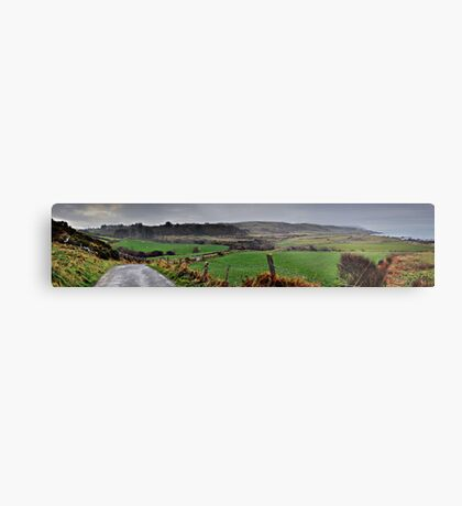 Panorama of Donegal Ireland Metal Print