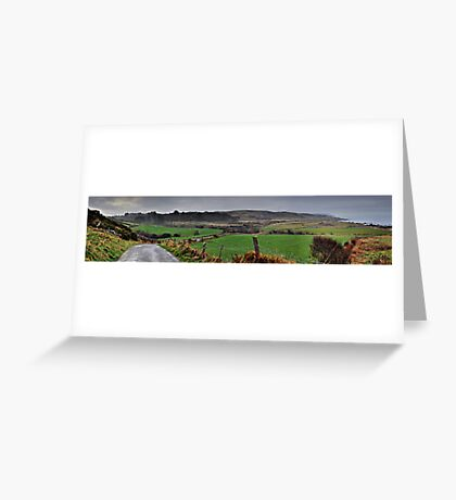 Panorama of Donegal Ireland Greeting Card