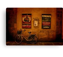 A Scene of Florence Canvas Print