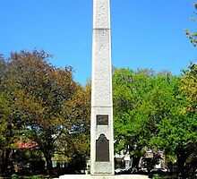 Washington Light Infantry Obelisk by anchorsofhope