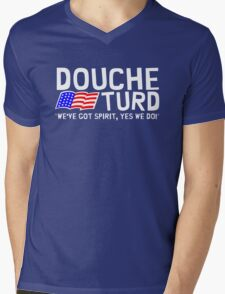 Vote Douche and Turd 2012 Mens V-Neck T-Shirt