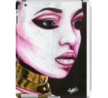 Tinashe Colored Pencil Warrior Drawing iPad Case/Skin