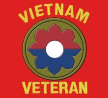 9th Infantry Division (Vietnam Veteran One Piece - Short Sleeve