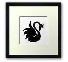Swan Queen  Framed Print