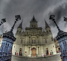 St. Louis Cathedral, Jackson Square, New Orleans by Matt Erickson