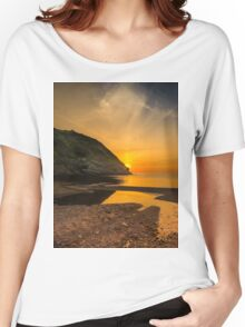 Sunset at Blacksea Women's Relaxed Fit T-Shirt