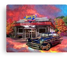"""Jerry's Curb Service"" Canvas Print"