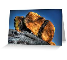Gold On Top Greeting Card