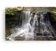 Waterfall at Indiana's McCormick's Creek State Park Canvas Print