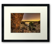 Down Dells Framed Print
