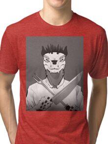 Lizard Chef Tri-blend T-Shirt