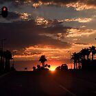 Sunset in the Suburbs by Chris Westinghouse