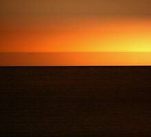 Sunrise over the sea?? by Nigel Butfield