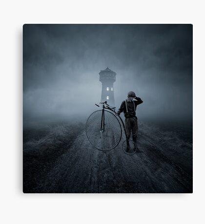 Lost road Canvas Print