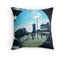 city and colour Throw Pillow