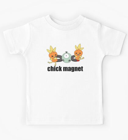 Pokemon Chick Magnet Kids Tee