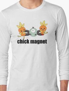 Pokemon Chick Magnet Long Sleeve T-Shirt