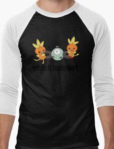 Pokemon Chick Magnet Men's Baseball ¾ T-Shirt