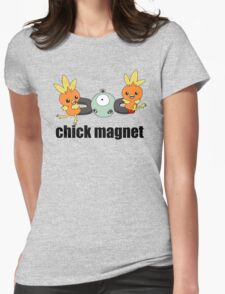 Pokemon Chick Magnet Womens Fitted T-Shirt