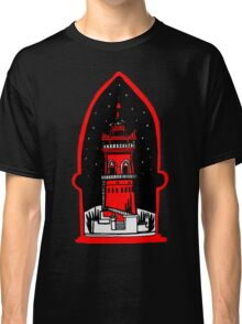 Watch tower in red Classic T-Shirt
