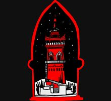 Watch tower in red Unisex T-Shirt