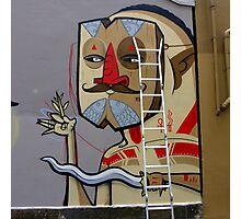 Sydney street art or Graffiti ? Photographic Print