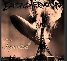 Sequential - Disasternoon Album Cover Art  by RIVIERAVISUAL