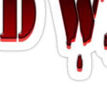END WAR Sticker
