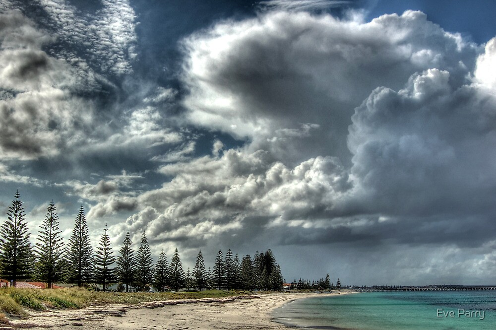 Cumulus Clouds In Esperance.  by Eve Parry