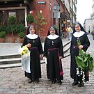 Nuns with flowers. by machka